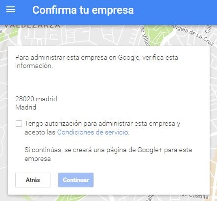 verificar empresa google my business